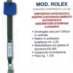 MARCHELLI KIT ANTICADUTA ROLEX DISPOSITIVO ANTICADUTA A NASTRO MOD. ROLEX MT 2